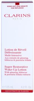 Clarins Super Restorative rozjasňující pleťová voda pro mladistvý vzhled