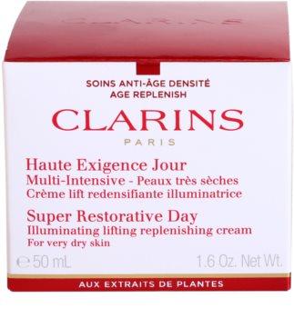 Clarins Super Restorative Verstevigende Dagcrème voor Zeer Droge Huid