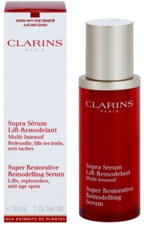 Clarins Super Restorative remodelačné sérum pre vypnutie pleti