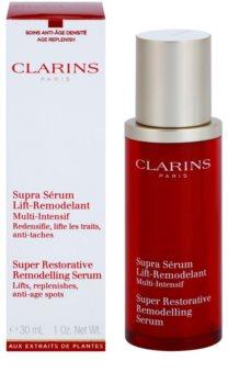 Clarins Super Restorative remodelační sérum pro vypnutí pleti