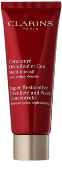 Clarins Super Restorative Anti-Wrinkle Firming Cream For Neck And Décolleté