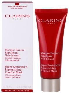 Clarins Super Restorative lifting in učvrstitvena maska proti gubam