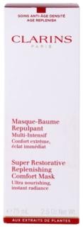 Clarins Super Restorative kisimító és feszesítő maszk a ráncok ellen