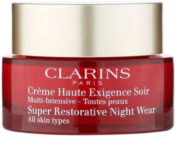 Clarins Super Restorative noční revitalizační krém pro všechny typy pleti