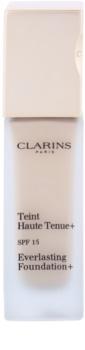 Clarins Face Make-Up Everlasting Foundation+ dolgoobstojni tekoči puder SPF 15