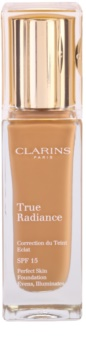 Clarins Face Make-Up True Radiance Brightening Moisturising and Perfecting Foundation SPF 15