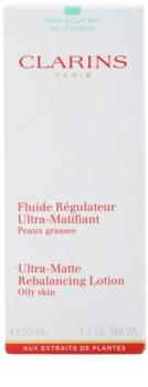 Clarins Truly Matte mattító fluid hidratálja a bőrt és minimalizálja a pórusokat