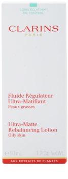 Clarins Truly Matte matujúci fluid pre hydratáciu pleti a minimalizáciu pórov
