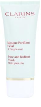 Clarins Truly Matte hĺbkovo čistiaca maska pre stiahnutie pórov a matný vzhľad pleti