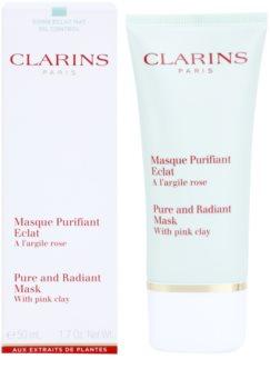 Clarins Truly Matte mélyen tisztító maszk pórusok kitisztításáért és a matt bőrért
