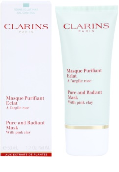 Clarins Truly Matte Pure and Radiant Mask with Pink Clay