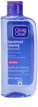 Clean & Clear Blackhead Clearing bőrtisztító víz a fekete pontok ellen