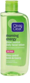 Clean & Clear Morning Energy tónico facial matificante