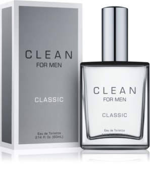 CLEAN For Men Classic eau de toilette pour homme 60 ml