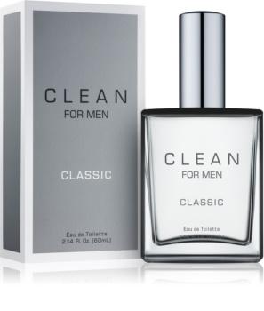 Clean For Men Classic toaletní voda pro muže 60 ml