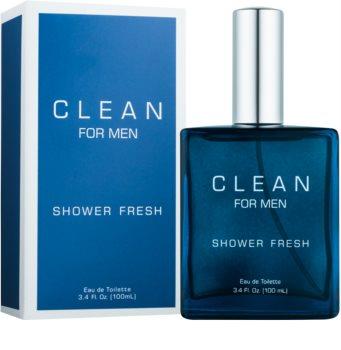 CLEAN Clean For Men Shower Fresh toaletná voda pre mužov 100 ml