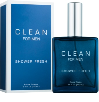 CLEAN For Men Shower Fresh eau de toilette para homens 100 ml