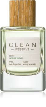 CLEAN Reserve Collection Smoked Vetiver Eau de Parfum Unisex 100 ml