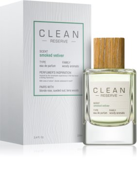 CLEAN Reserve Collection Smoked Vetiver parfumska voda uniseks 100 ml