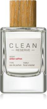 CLEAN Reserve Collection Amber Saffron eau de parfum unisex 100 ml