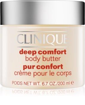 Clinique Deep Comfort telové maslo pre veľmi suchú pokožku