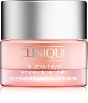Clinique All About Eyes crema para contorno de ojos antibolsas y antiojeras