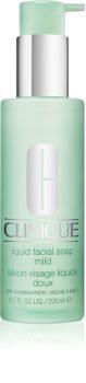 Clinique 3 Steps Liquid Facial Soap Mild For Sensitive Very Dry Skin