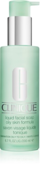 Clinique 3 Steps Liquid Facial Soap Oily Skin For Problematic Skin, Acne