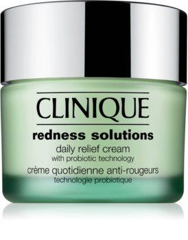 Clinique Redness Solutions dnevna pomirjujoča krema za vse tipe kože