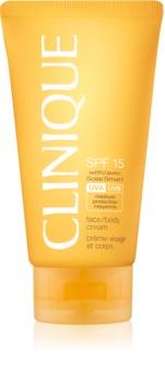 Clinique Sun Sunscreen Cream SPF 15
