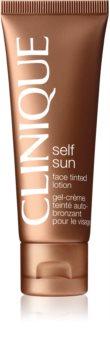 Clinique Self Sun creme autobronzeador para rosto