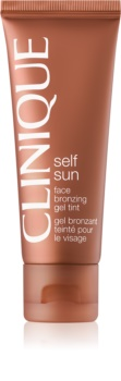 Clinique Self Sun gel bronzant visage