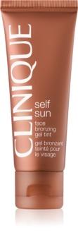 Clinique Self Sun бронзуючий гель для обличчя