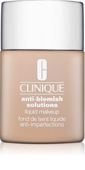 Clinique Anti-Blemish Solutions υγρό μεικ απ για προβληματική επιδερμίδα, ακμή