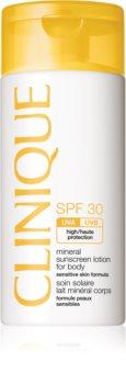 Clinique Sun minerálny krém na opaľovanie SPF 30