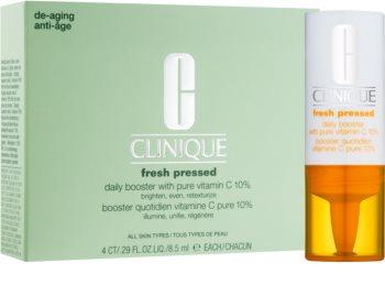 Clinique Fresh Pressed Aufhellendes Serum mit Vitamin C gegen Hautalterung