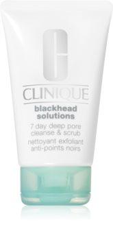 Clinique Blackhead Solutions čistilni piling za obraz proti črnim pikicam