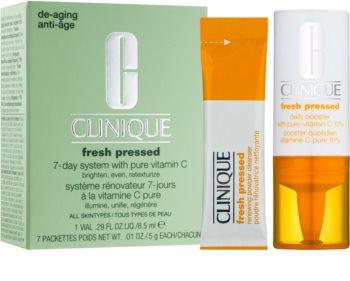 Clinique Fresh Pressed set cosmetice I. pentru femei