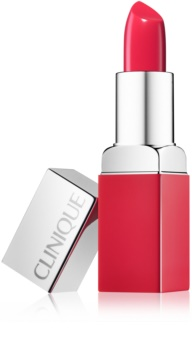 Clinique Pop Matte matný rúž + podkladová báza 2 v 1