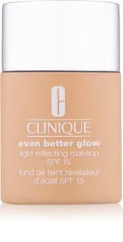Clinique Even Better Glow тональний засіб для освітлення шкіри SPF 15