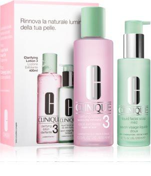 Clinique 3 Steps kozmetički set I. (za mješovitu i masnu kožu) za žene