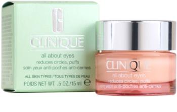 Clinique All About Eyes očný krém proti opuchom a tmavým kruhom