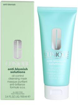 Clinique Anti-Blemish Solutions Reinigungsmaske für fettige und Mischhaut