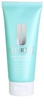 Clinique Anti-Blemish Solutions čistilna maska za mastno in mešano kožo