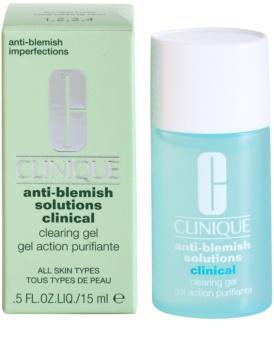 Clinique Anti-Blemish Solutions Clinical gél a bőr tökéletlenségei ellen