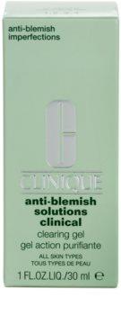 Clinique Anti-Blemish Solutions Clinical Gel gegen die Unvollkommenheiten der Haut