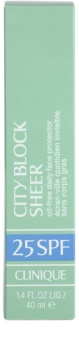 Clinique City Block Sheer schützende Gesichtscreme SPF 25