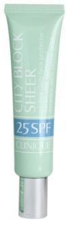 Clinique City Block Sheer ochranný krém na tvár SPF 25