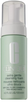 Clinique Extra Gentle Cleansing Foam nežna čistilna pena za suho do zelo suho kožo