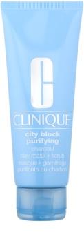 Clinique City Block Purifying mascarilla facial de limpieza profunda